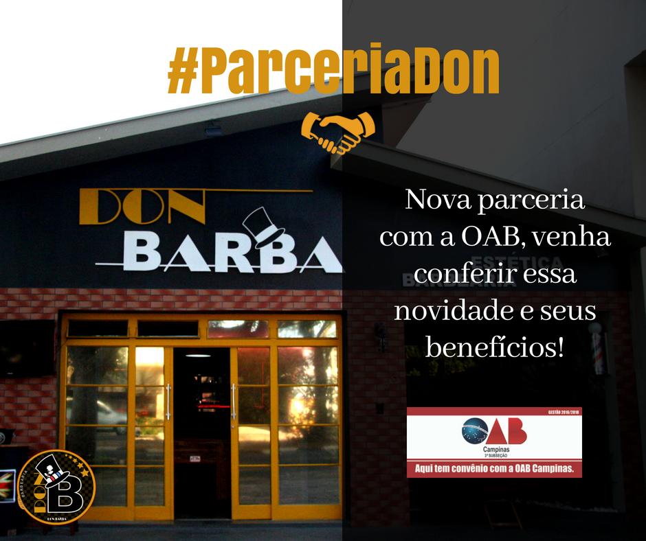 59fc8ec6da1dc Parceria Don Barba e OAB Campinas   Don Barba   Barbearia Campinas